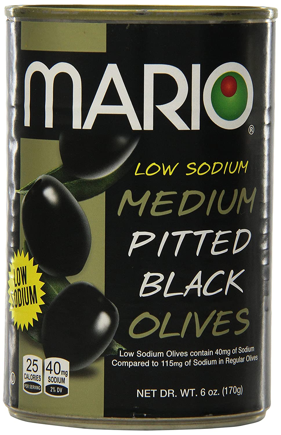 Louisville-Jefferson County Mall Mario Camacho Foods Low Sodium Olives Ranking TOP11 6.0 Black Medium Pitted