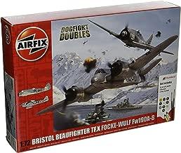 Airfix Bristol Beaufighter Mk X vs Focke-Wulf FW190A-8 Dogfight Double Plastic Model Gift Set (1:72 Scale)