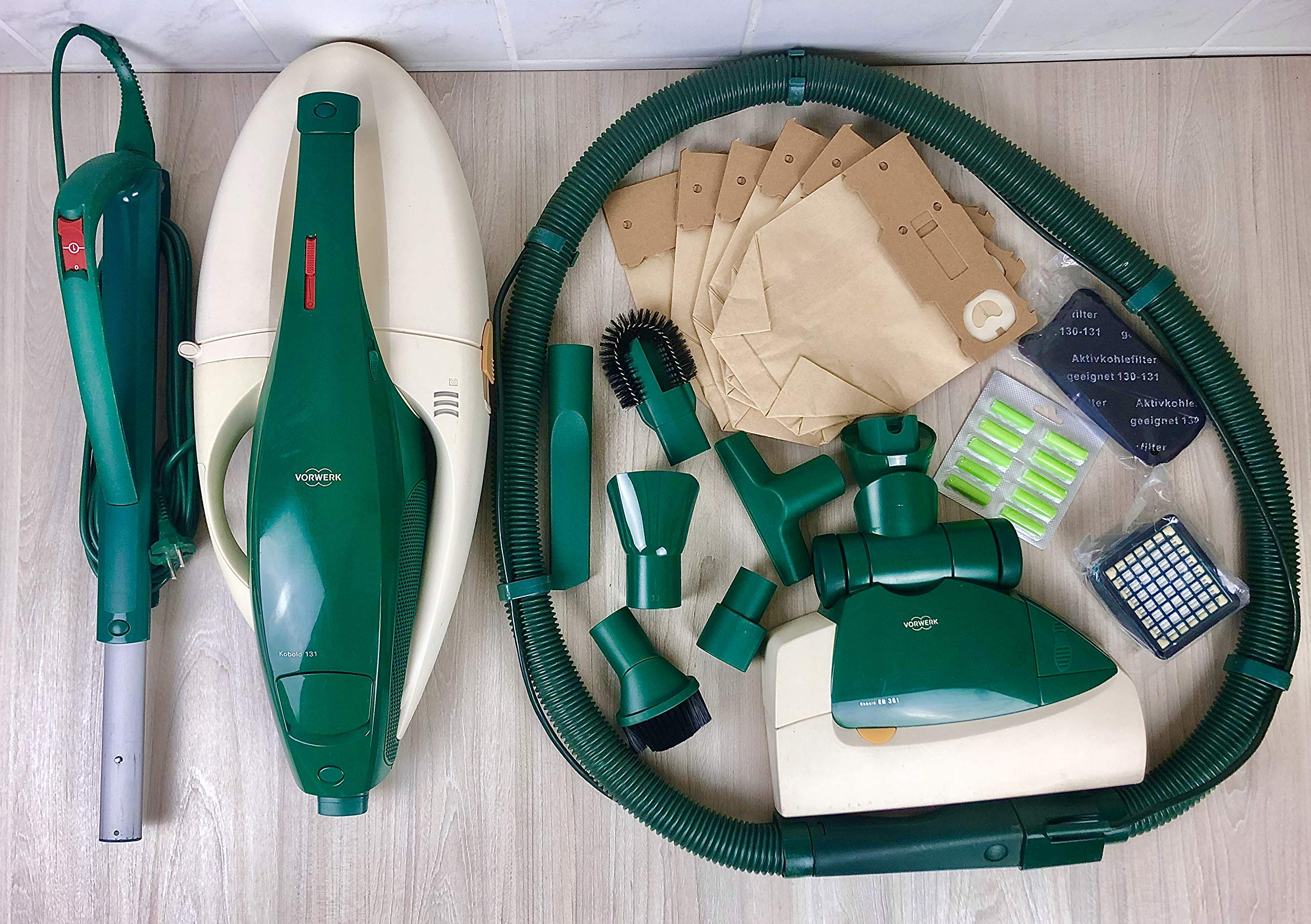 Aspiradora Vorwerk KOBOLD VK 131 + cepillo eléctrico EB 350 o EB ...