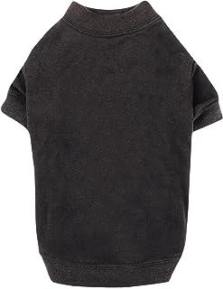 "Zack & Zoey Basic Tee Shirt for Dogs, 16"" Medium, Black"