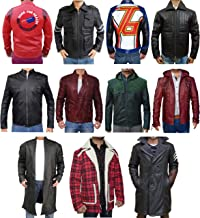The American Fashion Men Leather Jackets & Coats - Cosplay Costume for Adult