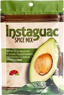 Guacamole Mix, Hot - Gourmet Seasoning Guac Dip Mix for Chips, Veggies – Mexican Seasoning Mix – Great Party Dip – 4 Packets