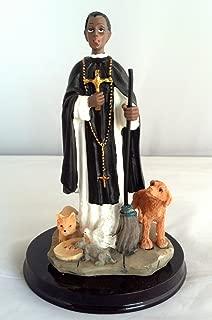 5 Inch Statue Estatua Santo Saint St San Martin de Porres