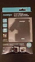 Powerxcel Portable 2600 mAh 3-in-1 Power Bank Wall & Car Charger