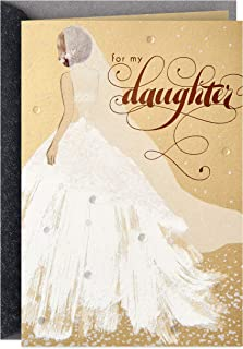 Hallmark Wedding Day Card for Daughter (Dream Come True)