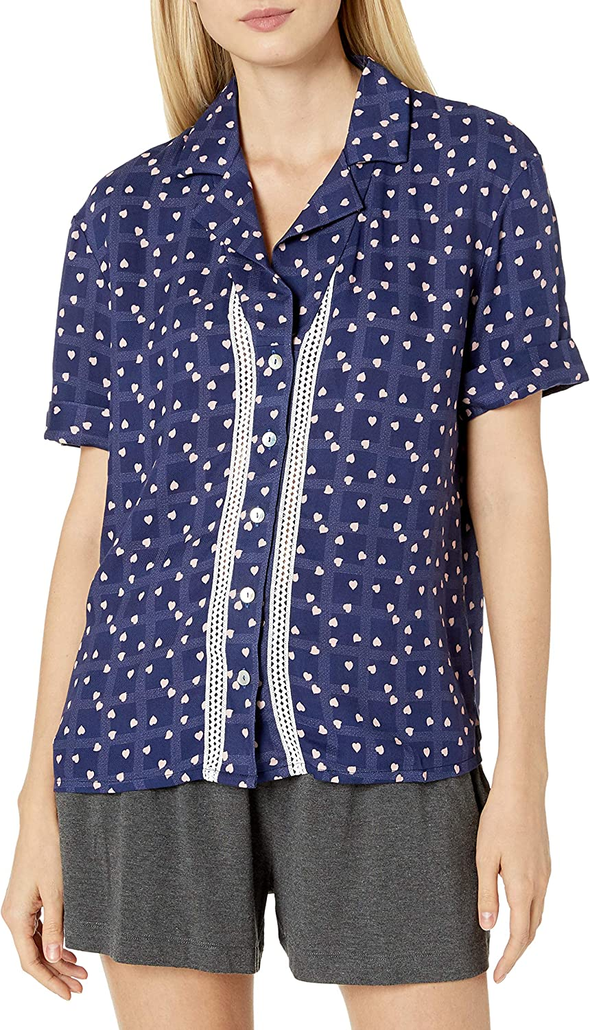 Paul and Joe Cosabella Women's Short Ss PRT A surprise price is realized Margaux Top Pj Manufacturer direct delivery