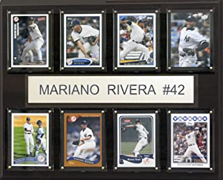 MLB New York Yankees Mariano Rivera 8-Card Plaque, 12 x 15-Inch