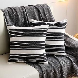 Amazon Com Decorative Pillows Inserts Covers Striped Decorative Pillows Inserts C Home Kitchen
