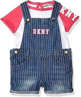 DKNY baby-girls Knit Top and Short Set Shorts Set