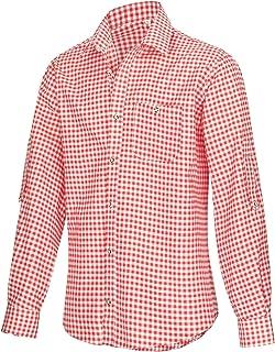 Camisa para traje regional (tallas S-XXXL), color rojo, azul y verde