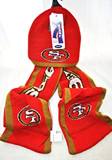 NFL San Fransisco 49ers Knit Nfl official Hoody Scarf NEW