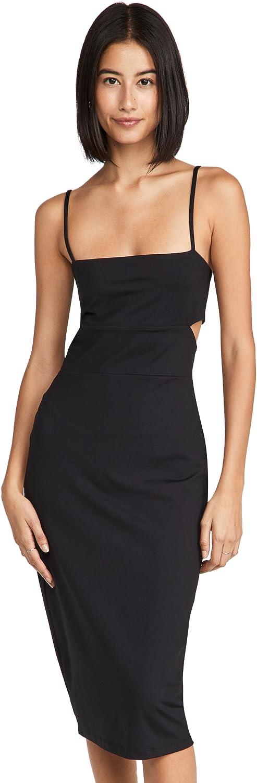 Susana Monaco Women's Cutout Strap Solid Dress