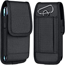 ykooe Cell Phone Pouch Nylon Holster Case with Belt Clip Cover Compatible with iPhone..