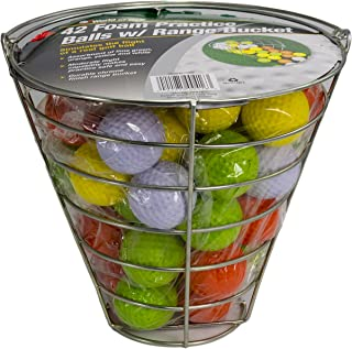 Jef World of Golf Foam Practice Balls (42 Multi-Colored Balls)