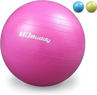 MDBuddy Anti-burst Fitness Exercise Stability Yoga Ball / Swiss, Birthing, Gym Ball