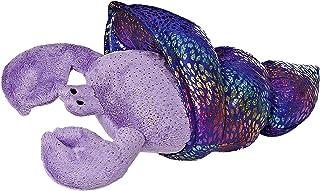 """Aurora World Sea Sparkles Hermit Crab Dione Plush, 11"""" Long"""