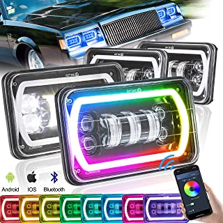 Best rectangle halo headlights Reviews