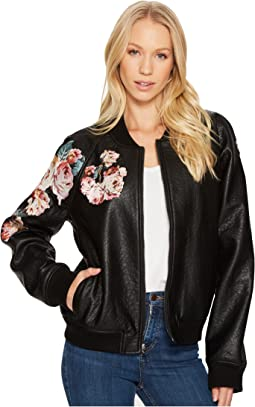 Embroidered Poly Jacket
