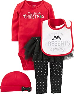 Simple Joys by Carter's Baby Girls' 4-Piece
