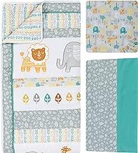 Trend Lab 6 Piece Crib Bedding Set, Lullaby Jungle