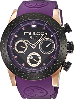 MULCO Unisex MW5-1962-445 Analog Display Swiss Quartz Blue Watch