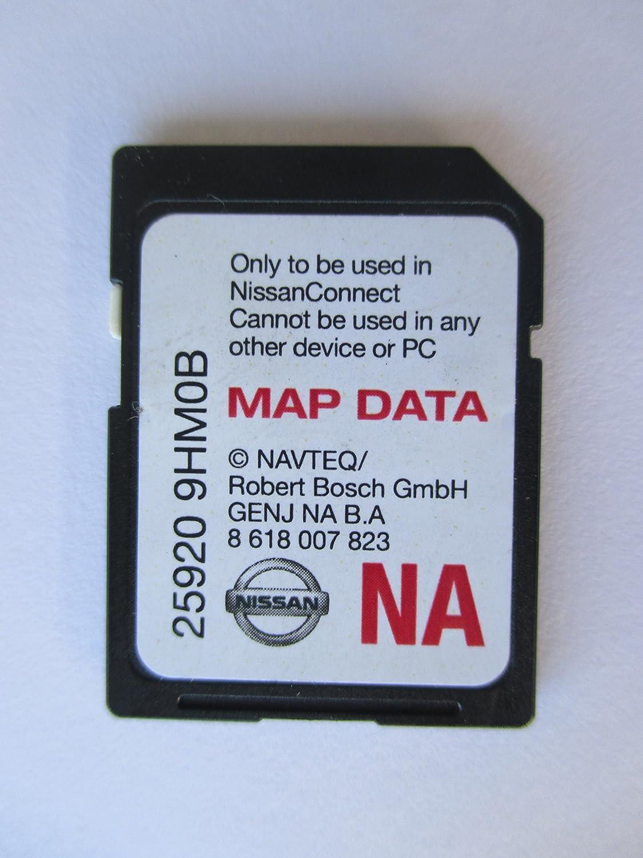 9HM0B-NA NISSAN SD Navigation Card GPS MAP Data, North America US Canada MAPS 25920-9HM0B-NA / 9hmob FITS: 2014 2015 Rogue SENTRA Altima Sedan Frontier Juke and 2015 NV Vans