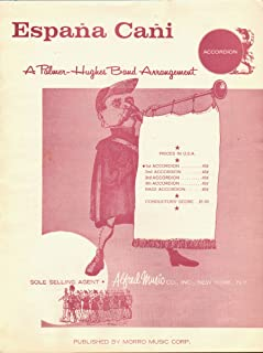 España Cañi (Band Arrangement for Accordion)