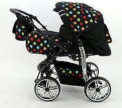 Kombi Kinderwagen Babywagen Sportwagen Travel System Buggy Pascal von Karex 3in1 +..