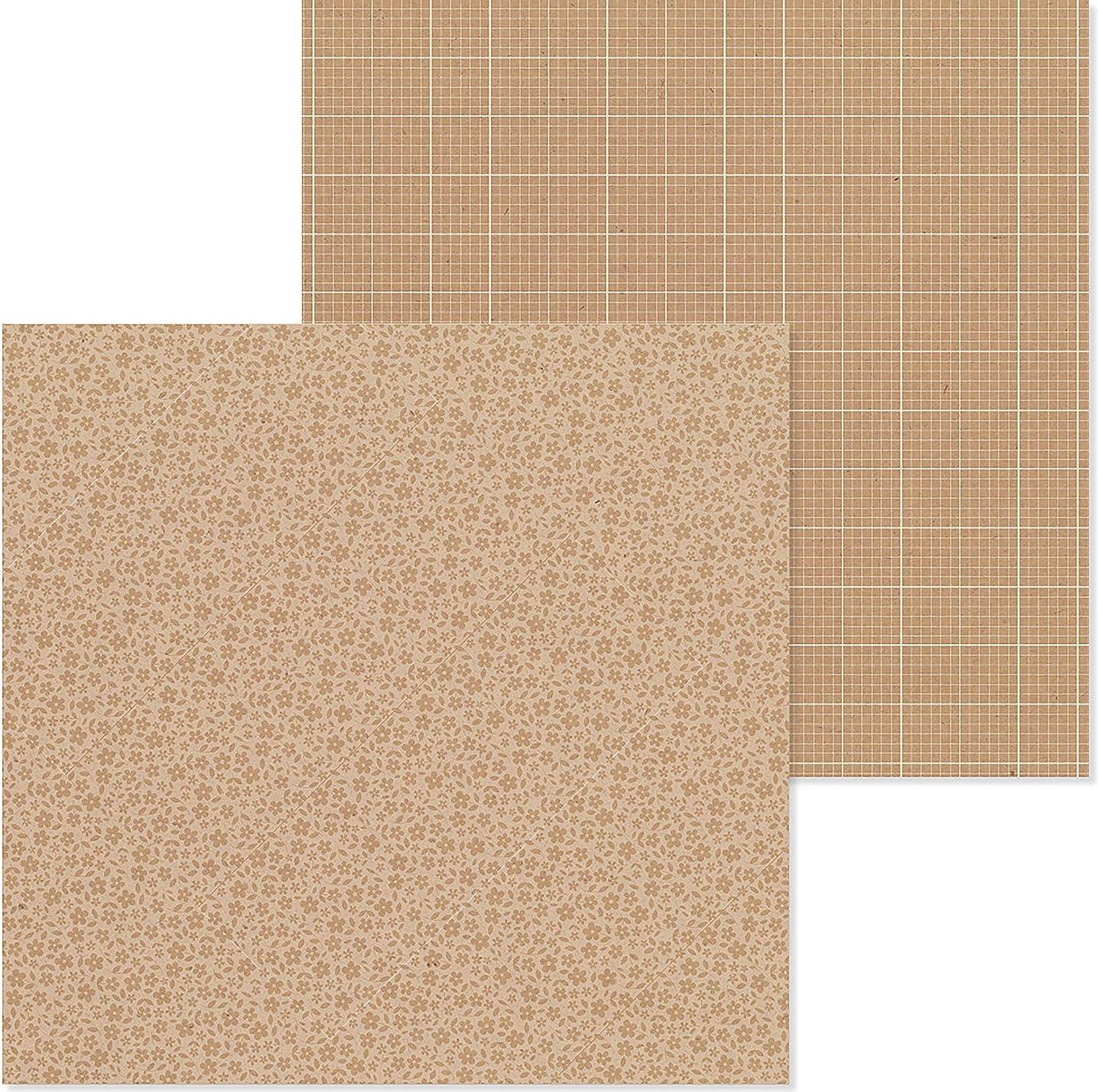 Doodlebug 6103 PP Paper 12x12 F/G Kraft