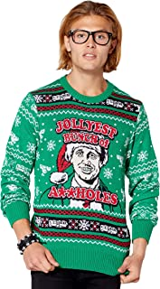 Jolliest Bunch of Assholes Ugly Christmas Sweater - National Lampoon's Christmas Vacation