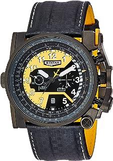 Titan Analog Yellow Dial Men's Watch - 1613NP01