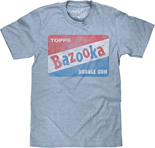 Tee Luv Vintage Bazooka Bubble Gum Licensed T-Shirt   Soft Touch Poly Cotton Fabric   by