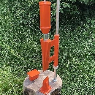 Bituxx mechanischer Holzspalter Brennholz Holzklotz liegend Fuß betrieben 1,2T