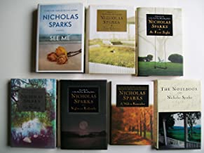 Nicholas Sparks (Set of 7 Books) See Me, The Choice, At First Sight, The Wedding, Nights in Rodanthe, A Walk to Remember, ...