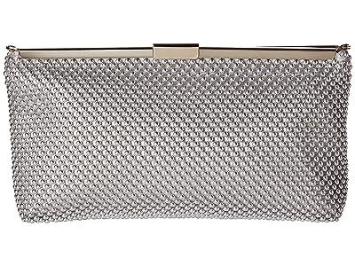 Adrianna Papell Oakley (Silver) Clutch Handbags