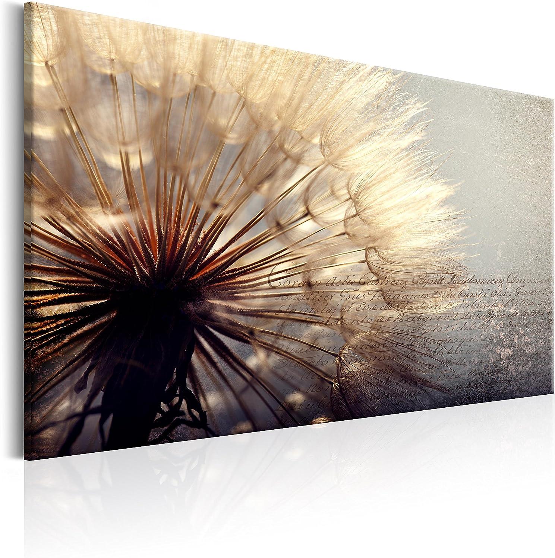 Murando - Bilder PusteBlaume 120x80 cm Vlies Leinwandbild 1 1 1 TLG Kunstdruck modern Wandbilder XXL Wanddekoration Design Wand Bild - PusteBlaumen Blaumen b-C-0165-b-b B071HQVRS7 4b17a0