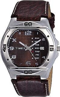 Timex Fashion Analog Brown Dial Men's Watch - EL04