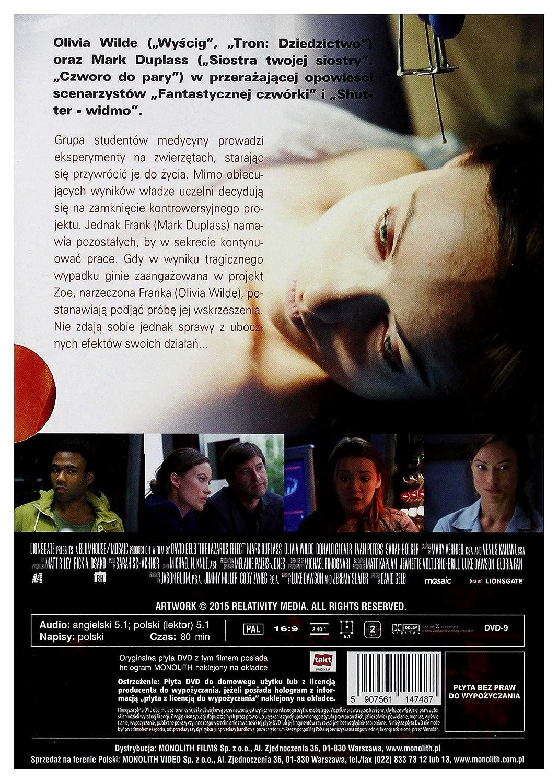 The Lazarus Effect [DVD] [Region 10] IMPORT Keine deutsche ...