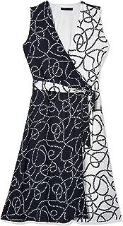 فستان توني المنسوج للنساء من او في اس