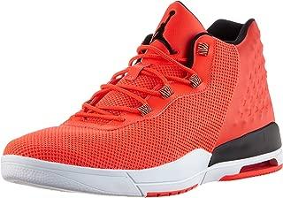 Nike Air Jordan Academy Mens Hi Top Trainers 844515 Basketball Shoes (10, Infrared 23/White/Black)