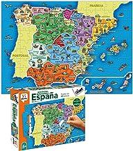 Diset- Puzzle Provincias-Autonomías137p Juguete educativos Provincias De España, Multicolor (68942)