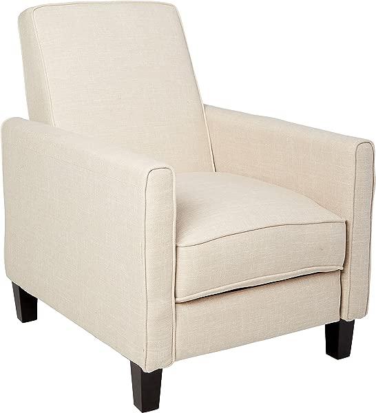 Best Selling Davis Fabric Recliner Club Chair Light Beige