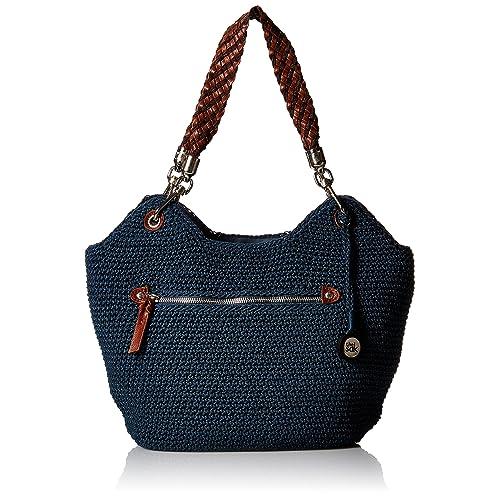 a9c613d8dabf The Sak Indio Crochet Satchel Bag