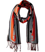 Burberry Kids - Branded Bus Jaqcuard Scarf (Little Kids/Big Kids)