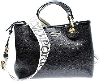 Emporio Armani Y3D166 - Bolso de mano con correa de piel para mujer