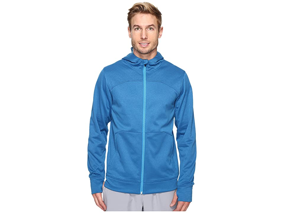 The North Face Ampere Full Zip Hoodie (Banff Blue/Blue Aster (Prior Season)) Men