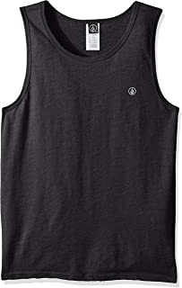 Volcom Men's Solid Emblem Tank Top