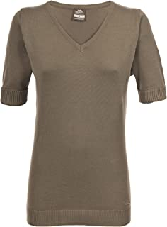 Farah Womens Knitted Casual Top Cotton Short Sleeve Outer Layer