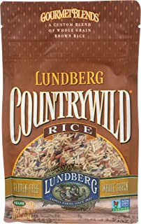 Lundberg Family Farms Country Wild Rice, 16 Ounce (Pack of 6)