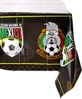 Selección Nacional De México Soccer Plastic Table Cover for Party